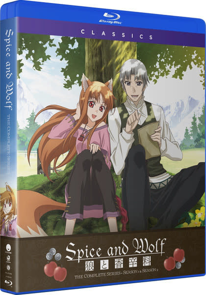 Funimation Entertainment Spice And Wolf Complete Series Classics Blu-Ray