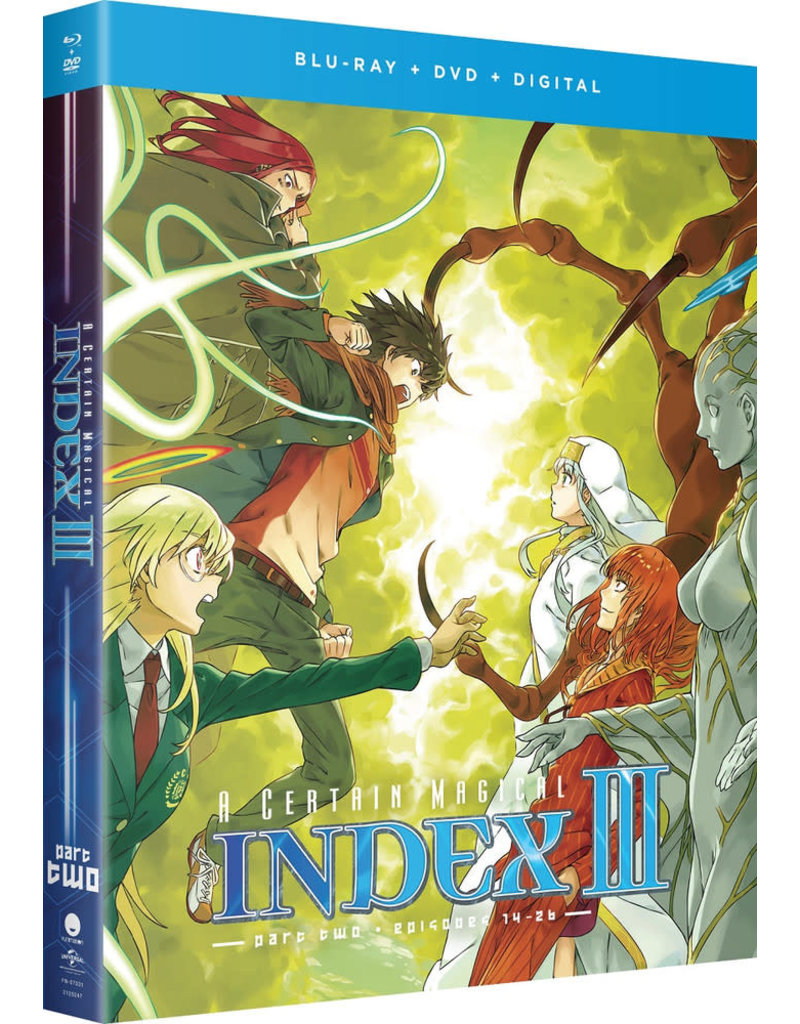 Funimation Entertainment Certain Magical Index, A Season 3 Part 2 Blu-Ray/DVD