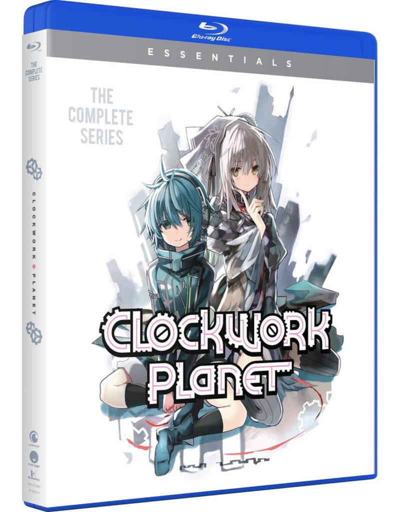 Funimation Entertainment Clockwork Planet Essentials Blu-Ray