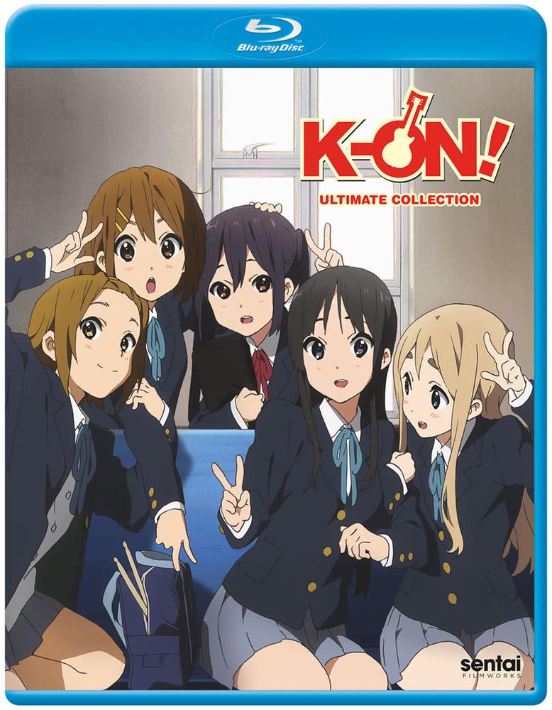 Sentai Filmworks K-On Ultimate Collection Blu-Ray
