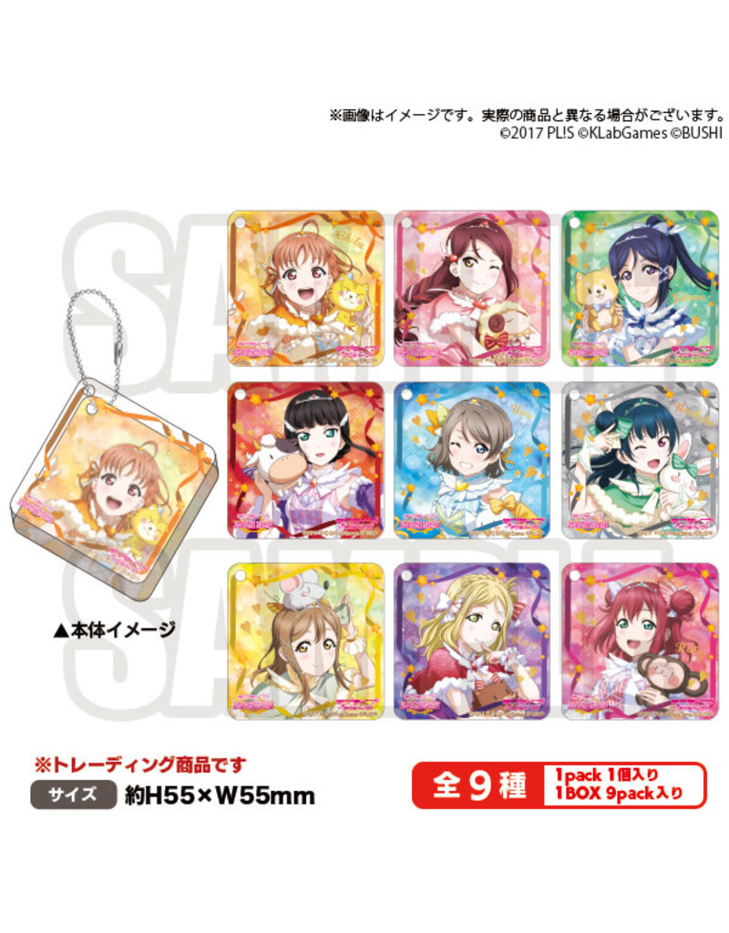 Bushiroad Love Live! All Stars Aqours Acrylic Tile Charm