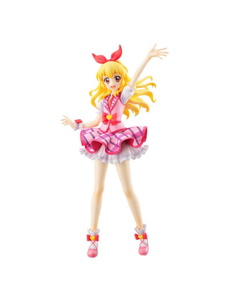 Hoshimiya Ichigo Pink Stage Costume Aikatsu Figure Lucrea Megahouse