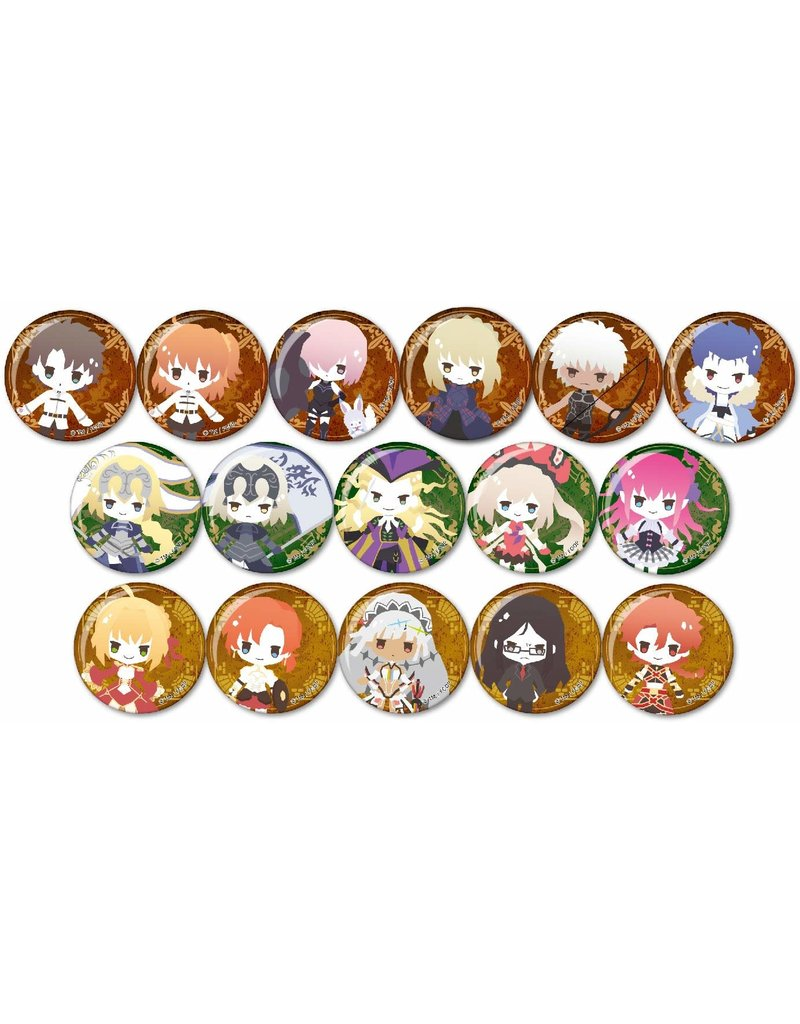 Fate Grand Order Sanrio Trading Can Badge Y-Line