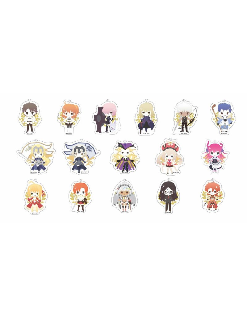 Fate Grand Order Sanrio Trading Keychain Y-Line