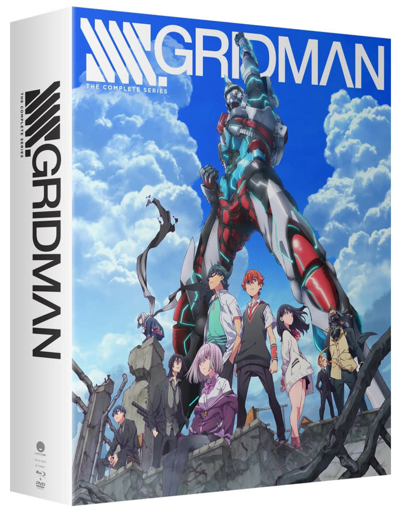 Funimation Entertainment SSSS.Gridman Limited Edition Blu-Ray/DVD