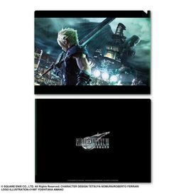 Square Enix Final Fantasy VII Remake Metallic File Vol. 1 (Cloud)