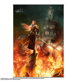 Square Enix Final Fantasy VII Remake Wallscroll Vol. 2 (Sephiroth)