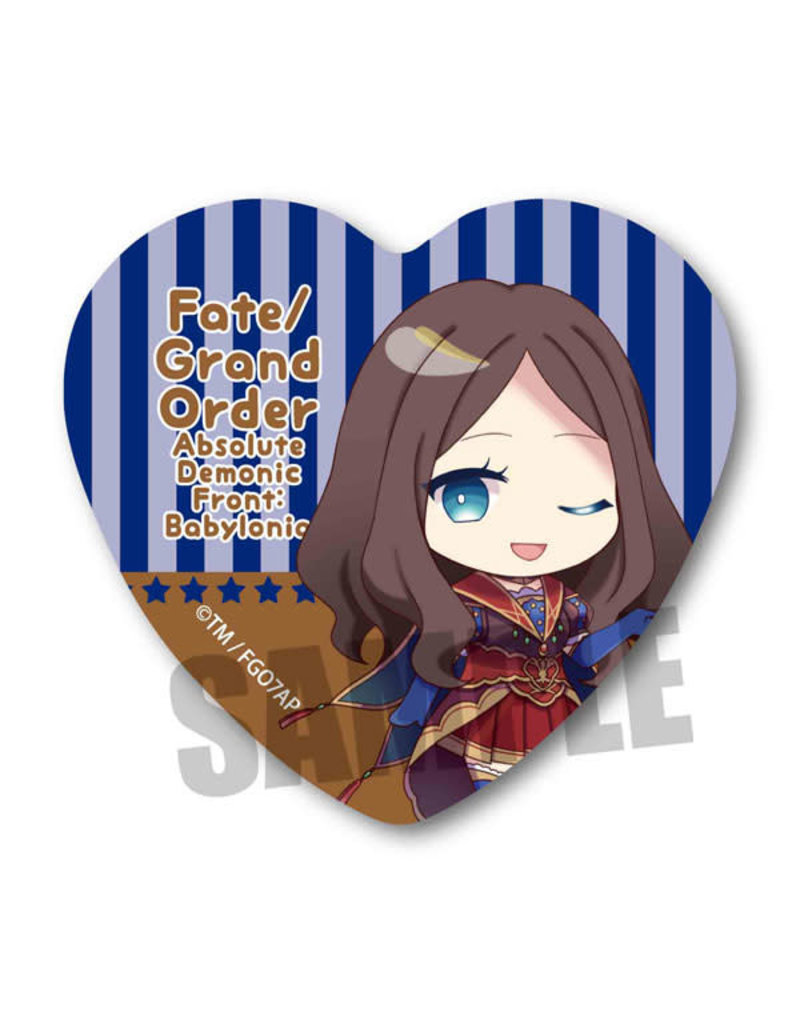 Fate Grand Order Babylonia Heart Can Badge