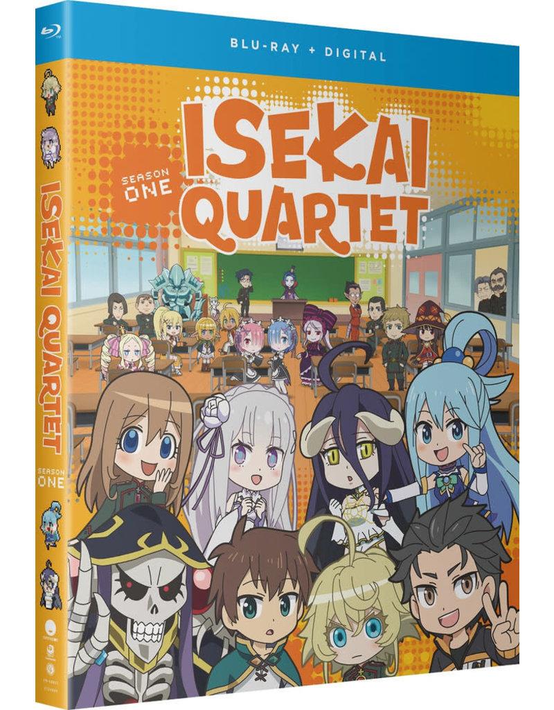 Funimation Entertainment Isekai Quartet Season 1 Blu-Ray