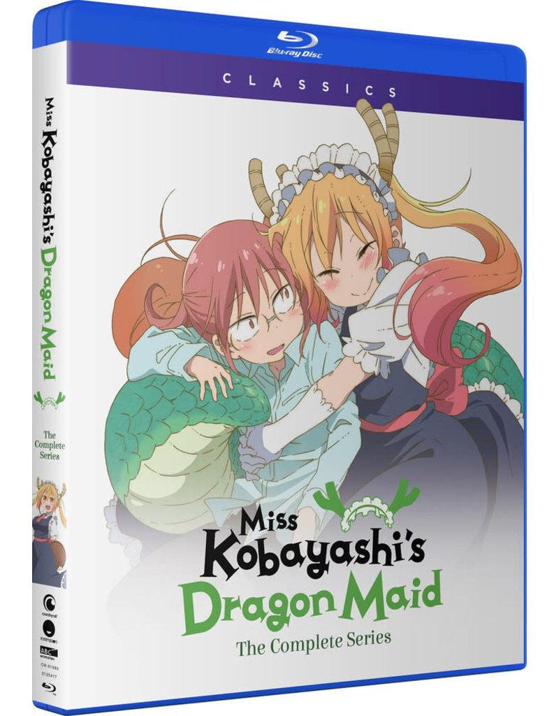 Funimation Entertainment Miss Kobayashi's Dragon Maid Classics Blu-Ray
