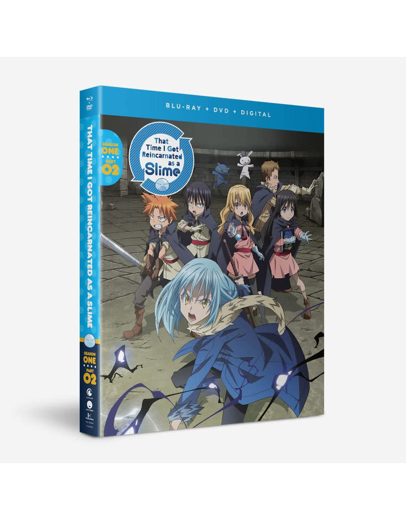 Funimation Entertainment That Time I Got Reincarnated As A Slime Season 1 Part 2 Blu-Ray/DVD