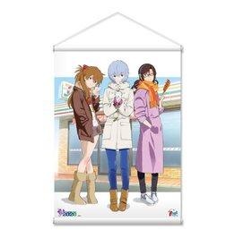 Neon Genesis Evangelion 7-11 Wallscroll Asuka/Rei/Mari