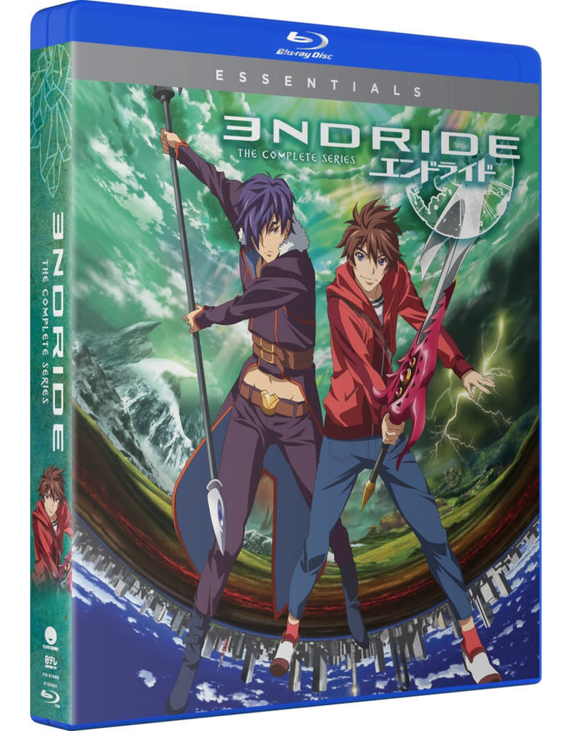 Funimation Entertainment Endride Essentials Blu-Ray