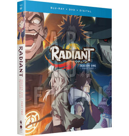 Funimation Entertainment Radiant Season 1 Part 2 Blu-Ray/DVD