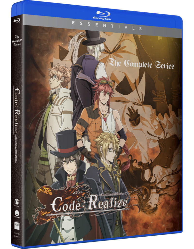 Funimation Entertainment Code:Realize Guardian Of Rebirth Essentials Blu-Ray
