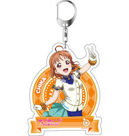 Contents Seed Love Live! SIF All Stars Deka Keychain Vol. 2 Aqours