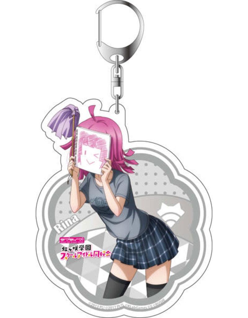 Contents Seed Love Live! Nijigasaki HS Deka Keychain Odaiba Gamers Vers.