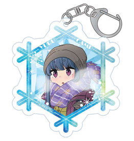 Furyu Yuru Camp First Snow Camp Acrylic Keychain Rin