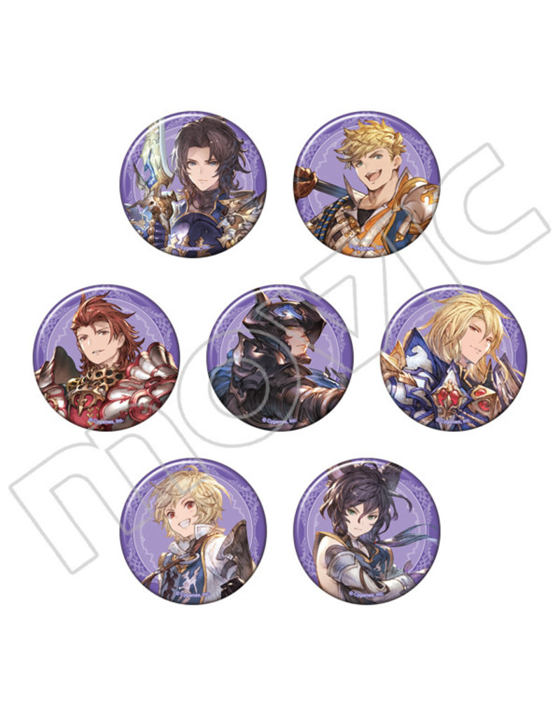 Movic Granblue Fantasy Original Vers. Character Badge Vol. 3