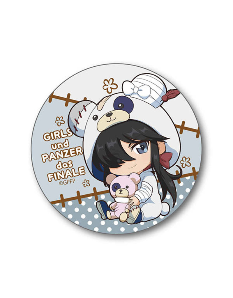 Girls und Panzer das Finale Gyugyutto Kigurumi Can Badge
