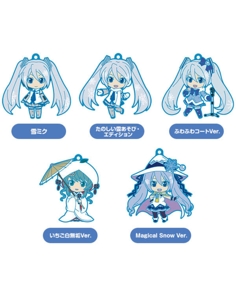 Good Smile Company Snow Miku Nendoroid Plus Keychains Vol. 1