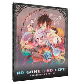 Sentai Filmworks No Game No Life TV Series + Movie Collection Steelbook Blu-Ray