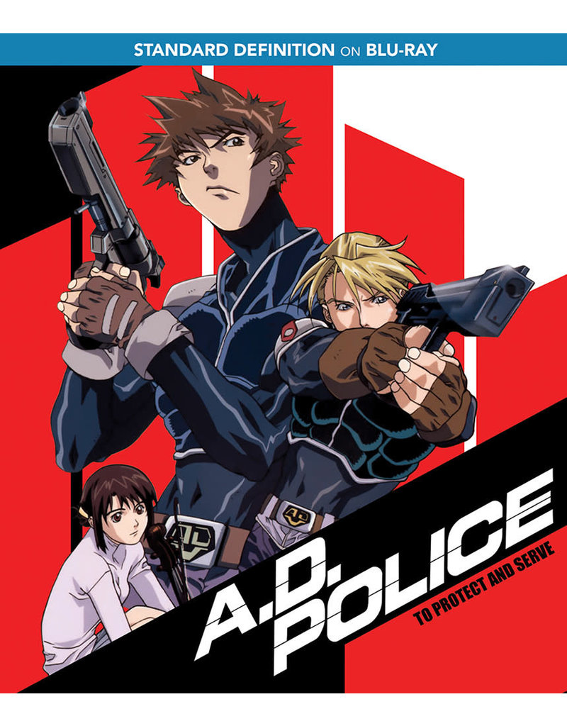 Nozomi Ent/Lucky Penny A.D. Police To Protect And Serve SD Blu-Ray