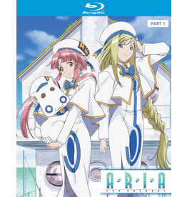 Nozomi Ent/Lucky Penny Aria The Natural Season 2 Part 1 Blu-Ray
