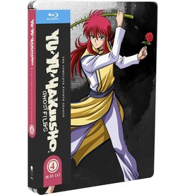 Funimation Entertainment Yu Yu Hakusho Season 4 Steelbook Blu-Ray