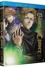 Funimation Entertainment Black Clover Season 2 Part 3 Blu-Ray/DVD*