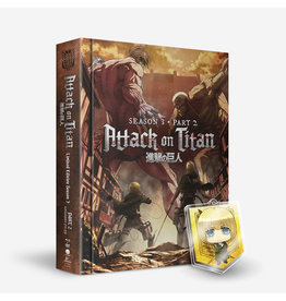 Funimation Entertainment Attack On Titan Season 3 Part 2 LE Blu-Ray/DVD