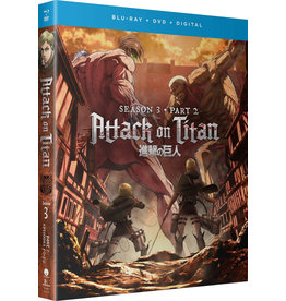 Funimation Entertainment Attack On Titan Season 3 Part 2 Blu-Ray/DVD