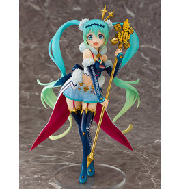 Aquamarine Racing Miku 2018 Challenging To The Top Ver Vocaloid Figure Aquamarine