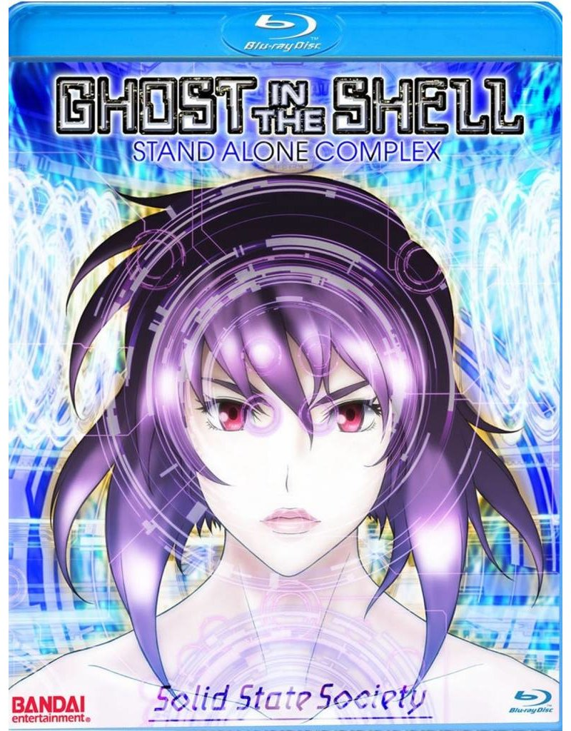 Manga Entertainment Ghost in the Shell SAC Solid State Society Blu-Ray