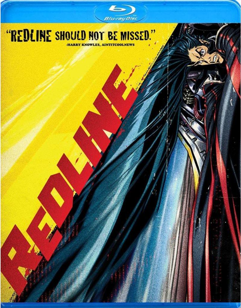 Manga Entertainment Redline Blu-Ray