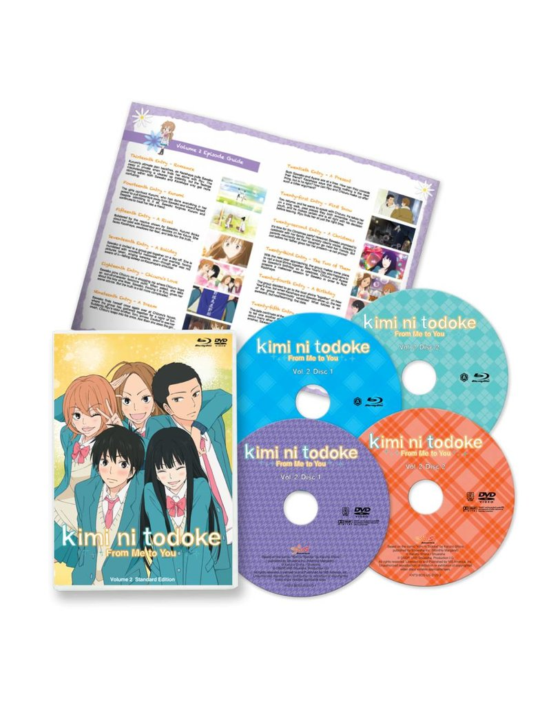 NIS America Kimi ni Todoke - From Me to You Vol 2 Standard Edition*