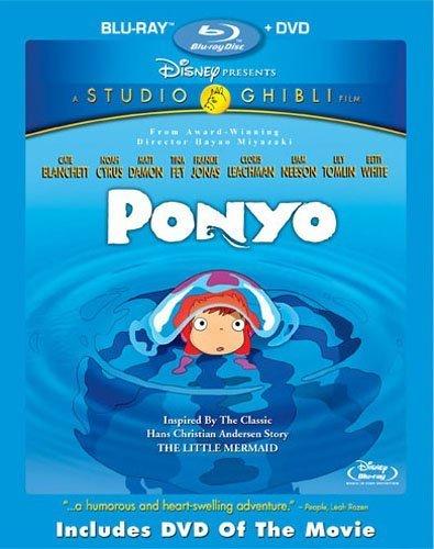 Studio Ghibli/GKids Ponyo BD/DVD*