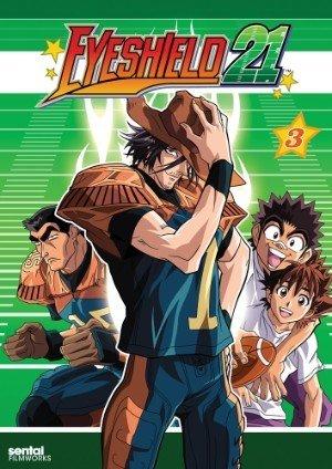 Sentai Filmworks Eyeshield 21 Collection 3 DVD