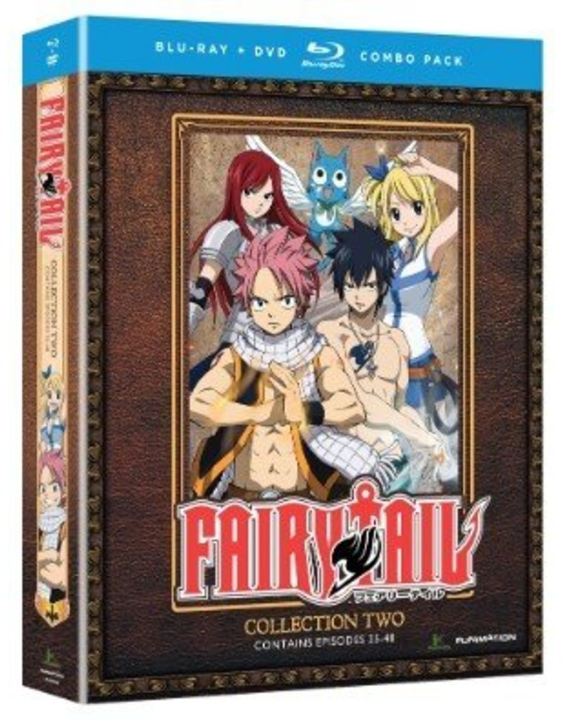 Funimation Entertainment Fairy Tail Collection 2 Blu-Ray/DVD
