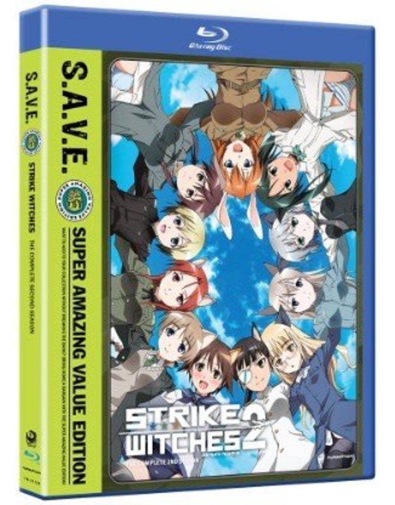 Funimation Entertainment Strike Witches Season 2 (S.A.V.E Edition) Blu-ray/DVD*