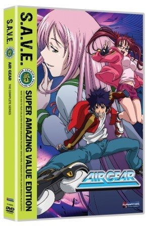Funimation Entertainment Air Gear Complete Series (S.A.V.E Edition) DVD