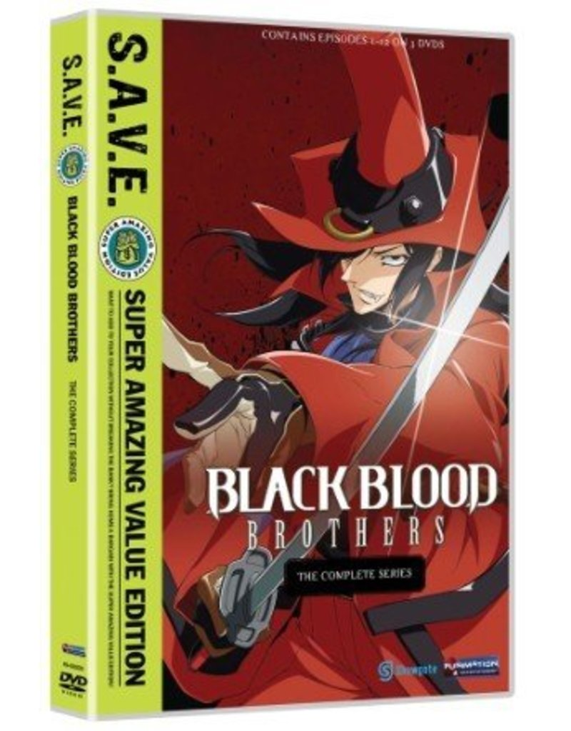 Funimation Entertainment Black Blood Brothers Complete Series (S.A.V.E. Edition) DVD*