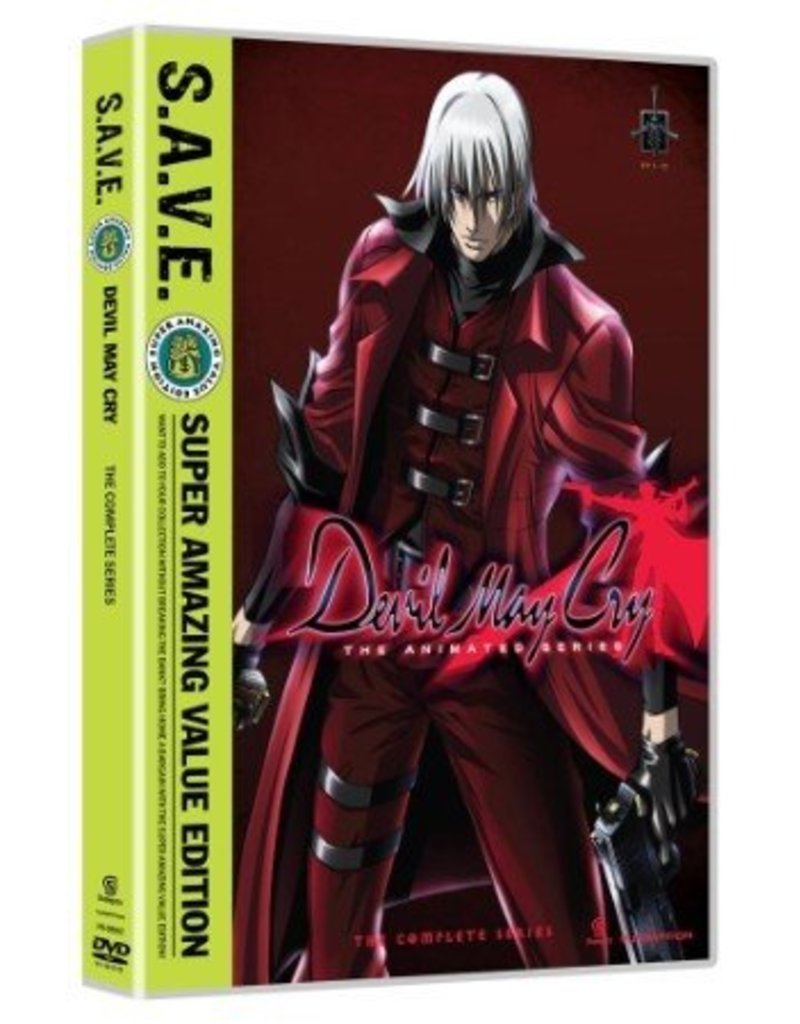 Funimation Entertainment Devil May Cry Complete Series (S.A.V.E. Edition) DVD*