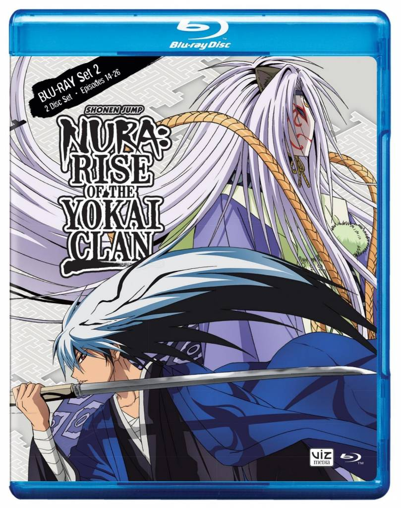 Viz Media Nura Rise of the Yokai Clan Set 2 BD