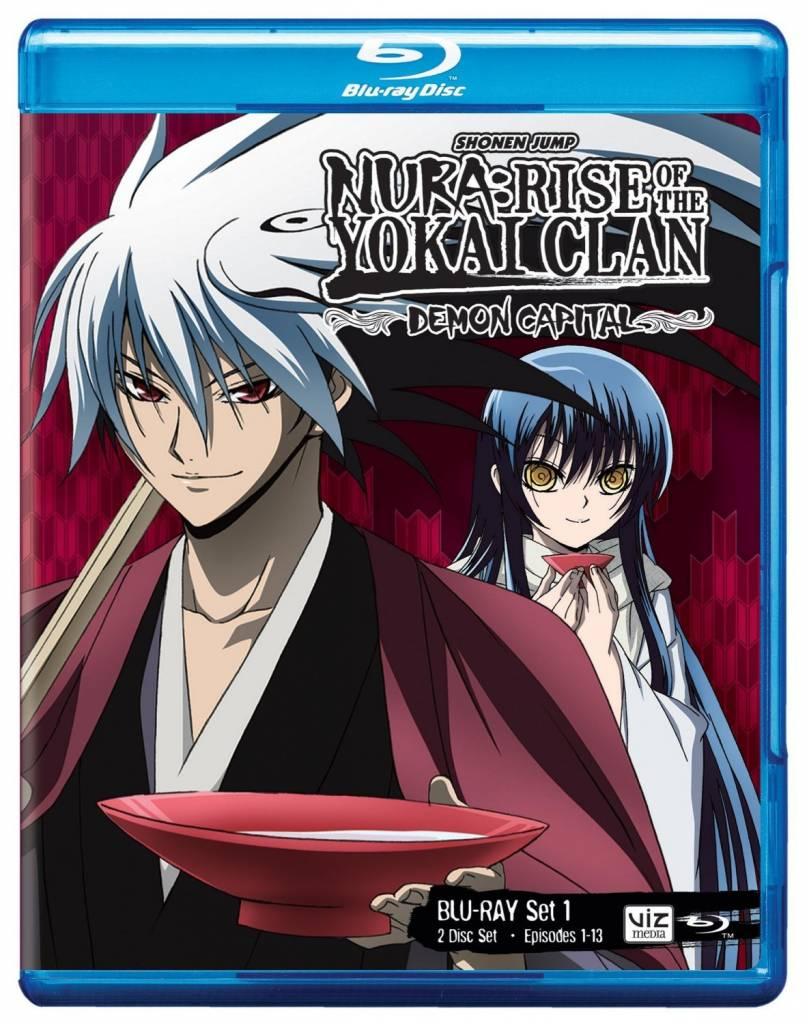 Viz Media Nura Rise of the Yokai Clan: Demon Capital Set 1 BD