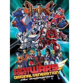 Media Blasters Super Robot Wars OG The Animation DVD