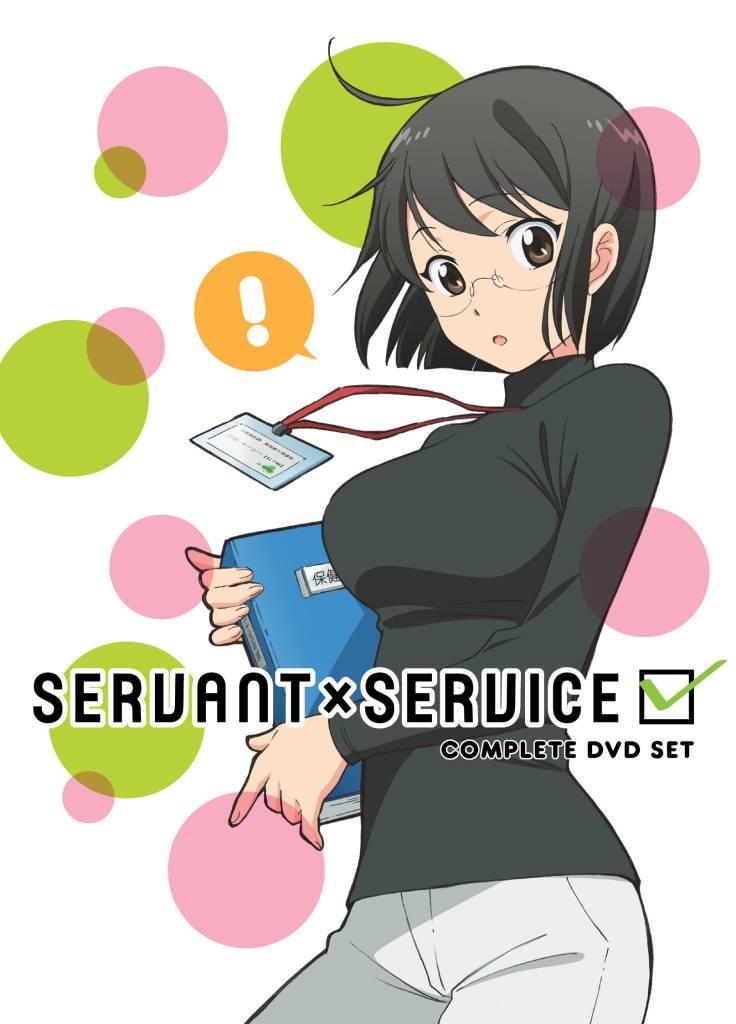 Aniplex of America Inc Servant x Service Complete DVD Set*