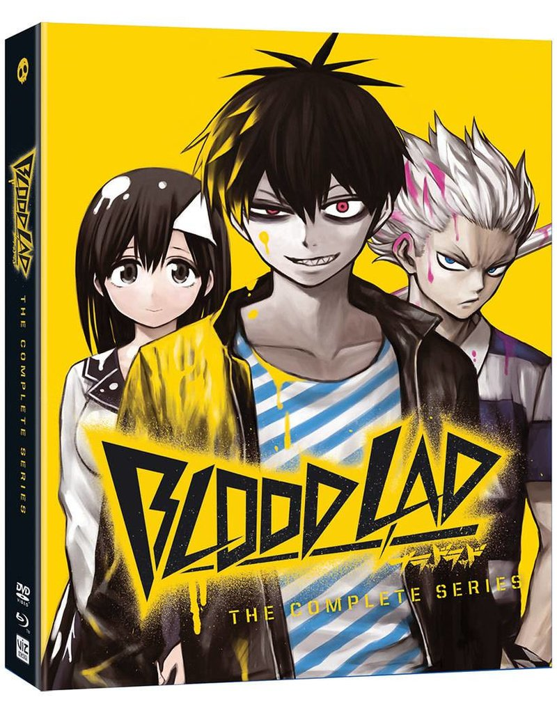 Viz Media Blood Lad Complete Series Blu-Ray/DVD LE