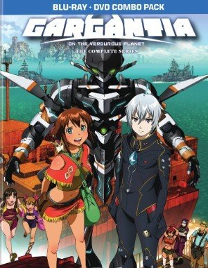 Viz Media Gargantia on the Verduous Planet Blu-Ray/DVD