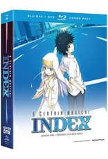 Funimation Entertainment Certain Magical Index (Season 1) Blu-Ray/DVD